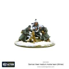 German Heer Medium Mortar Team (Winter)