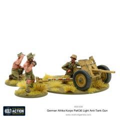 Afrika Korps Pak 36 Anti-Tank Gun