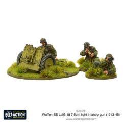 Waffen-SS - LelG 18 7.5cm Light Infantry Gun (1943-45)