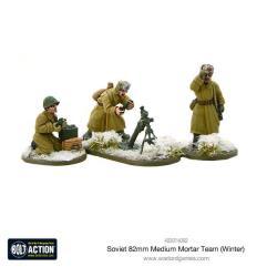 Soviet Army 82mm Mortar - Winter