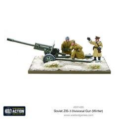 Soviet ZIS-3 Divisional Gun (Winter)