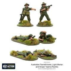 Australian Flamethrower - Light Mortar and Sniper Teams (Pacific)