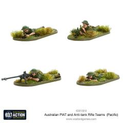 Australian PIAT and Anti-Tank Rifle Teams