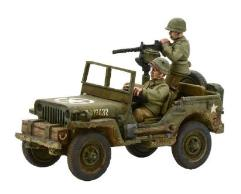 US Army Jeep w/30 Cal MMG