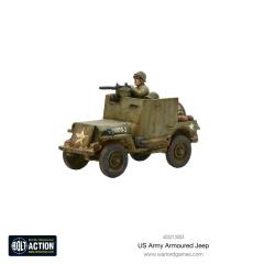 US Army Armoured Jeep