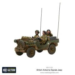 British Airborne Signals Jeep