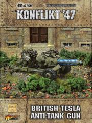 British Tesla AT Gun