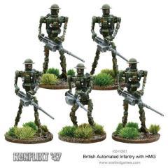 British Automated Infantry w/HMG