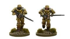 German Heavy Infantry w/LMG's