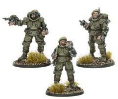 British Galahad Armored Infantry Officer