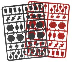 2000 AD Markers (Red & Black)