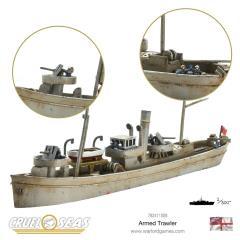 British Armed Trawler