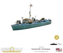 Fairmile B ML 145 Gunboat