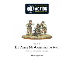 US Army 60mm Mortar Team