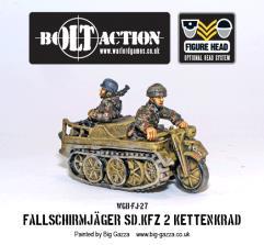 Fallschirmjager Sdkfz 2 Kettenkrad Half-Track