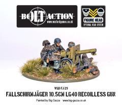 Fallschirmjager 10.5 cm LG40 Recoilless Gun w/Crew