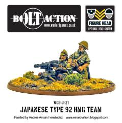 Imperial Japanese Type 92 HMG Team