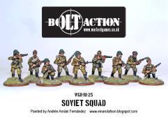 Soviet Army Squad