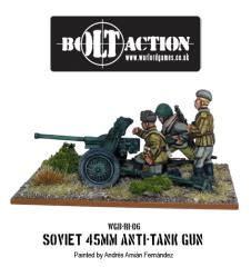 Soviet Army 45mm Anti-Tank Gun