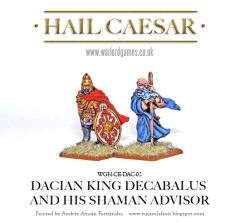 Decabalus Dacian King and his Shaman Advisor