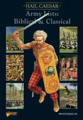 Army Lists - Biblical & Classical