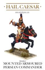 Mounted Armored Persian Commander