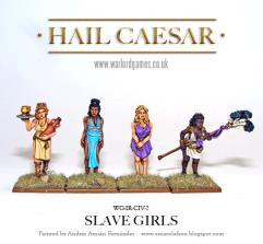 Roman Slave Girls