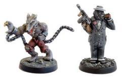 Gorilla Gangster and Werewolf