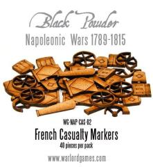 French Napoleonic Casualty Markers