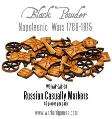 Russian Napoleonic Casualty Markers