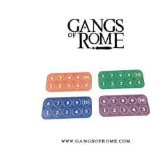 Gang Fighter ID Markers
