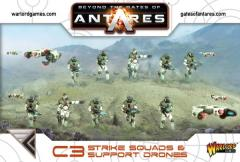 C3 Strike Squads & Support Drones