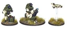 C3 Support Team w/X-Launcher