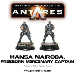 Hansa Nairoba & Bovan Tuk - Mercenary Captains
