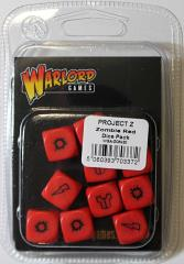 Project Z Dice Set - Red