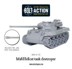 M18 Hellcat Tank Destroyer (Resin & Metal)