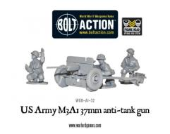 US Army M3A1 37mm Anti-Tank Gun