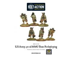 US Army .30 Cal. MMG Team - Redeploying
