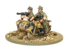 Kradschutzen Motorcycle w/Sidecar