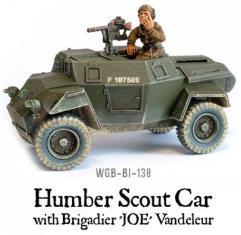 Humber Scout Car w/Brigadier Joe Vandeleur
