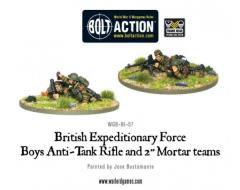 "BEF Anti-Tank Rifle & 2"" Light Mortar Teams"