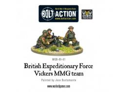 Early War - British Vickers MMG Team