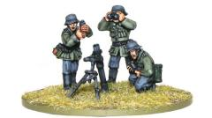 Blitzkrieg German 81mm Medium Mortar Team