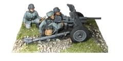 Blitzkrieg German 37mm Pak 36 Anti-Tank Gun