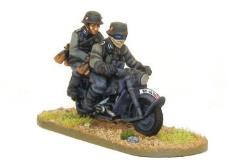 Blitzkrieg German Kradchutzen Mortorcycle