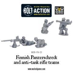 Finnish Panzerschreck & Anti-Tank Rifle Teams