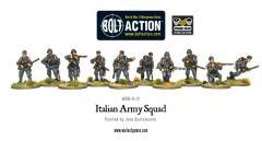 Italian Army Squad