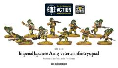 Imperial Japanese Army Squad - Veteran