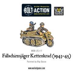 Fallschirmjager Sdkfz 2 Kettenkrad Half-Track - 1943-45