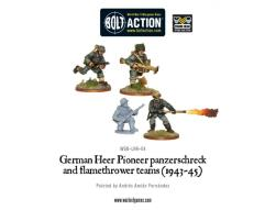 German Heer Pioneer Panzerschreck & Flamethrower Teams (1943-45)